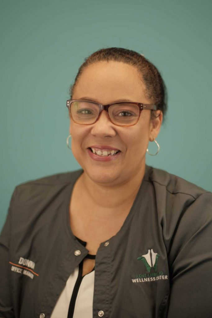 Donna Curtin Ottawa Kent Chiro Med Wellness Clinic office manager