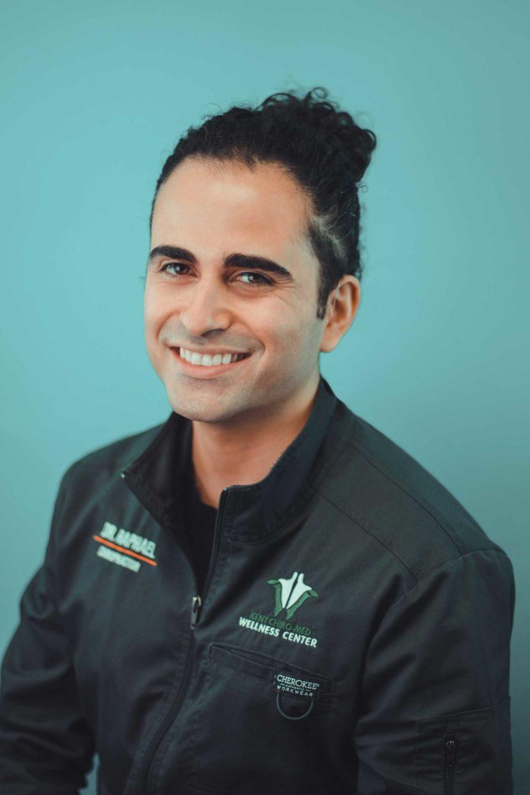 Dr. Ramy Raphael - portrait - green
