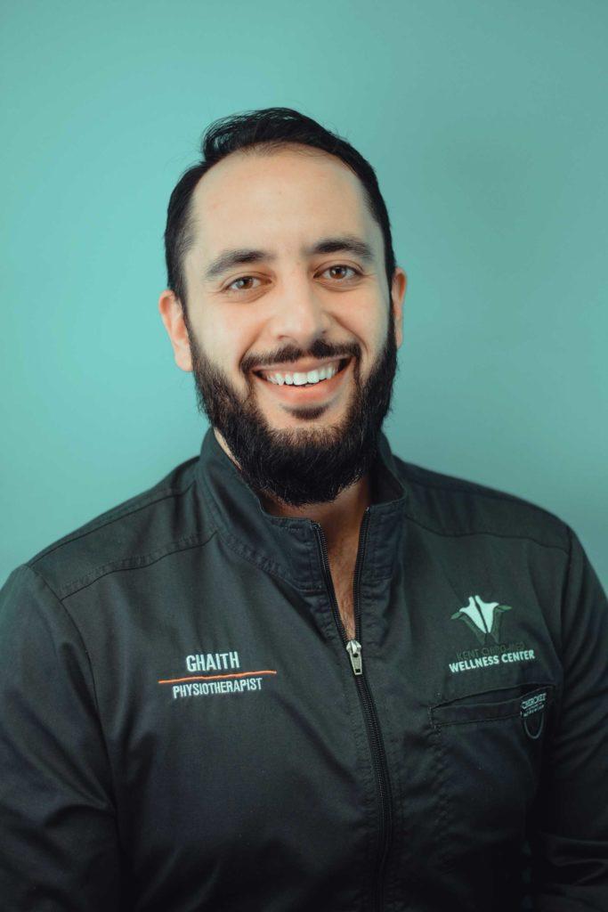 Ghaith Dhaidan - portrait - green